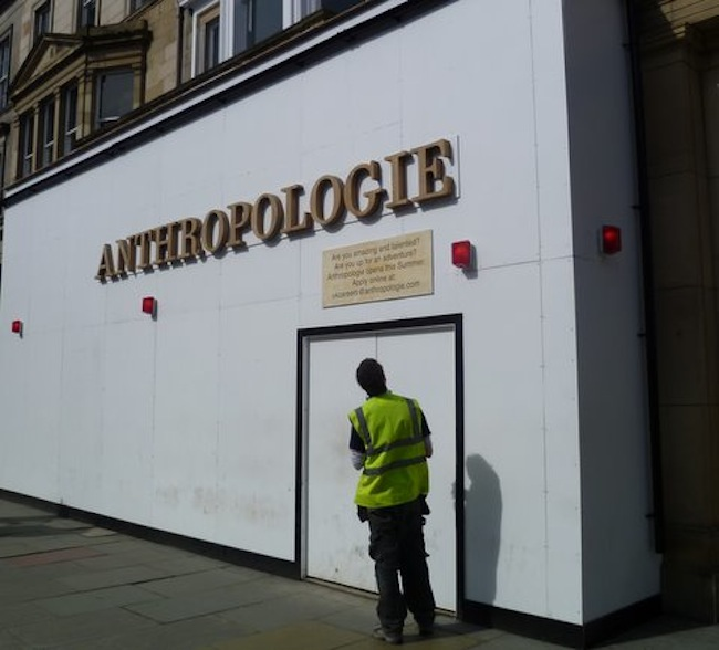 Anthropologie Edinburgh Store