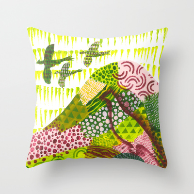 Fields of Pattern Pillow