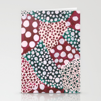 Spotty Fields Card