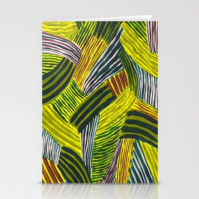 Stripy Fields Card