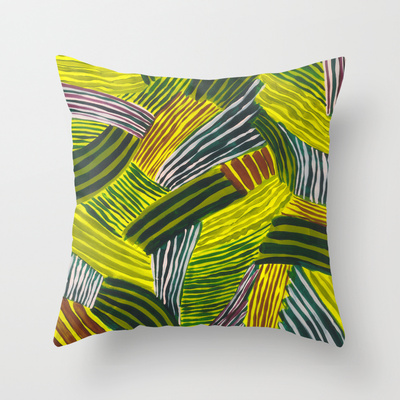 Stripy Fields Pillow