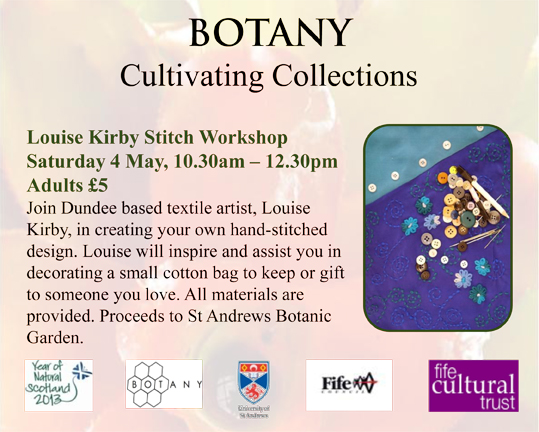 Louise Kirby Stitch Workshop