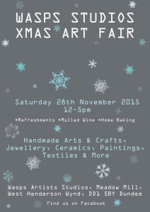 Wasps Studios xmas art fair