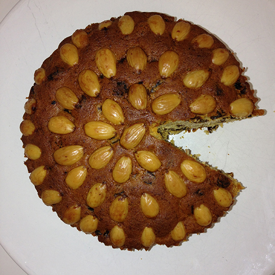 Dundee cake pacman